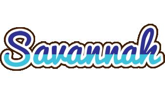 Savannah raining logo