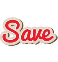 Save chocolate logo