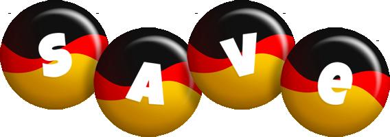 Save german logo
