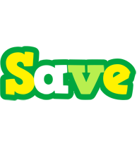 Save soccer logo