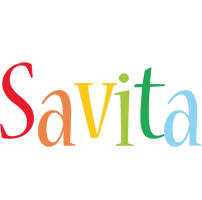 Savita birthday logo