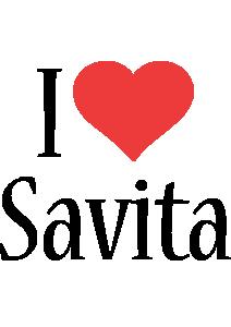 Savita i-love logo