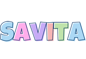 Savita pastel logo