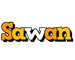 Sawan cartoon logo