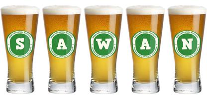 Sawan lager logo