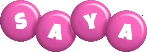 Saya candy-pink logo