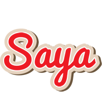 Saya chocolate logo