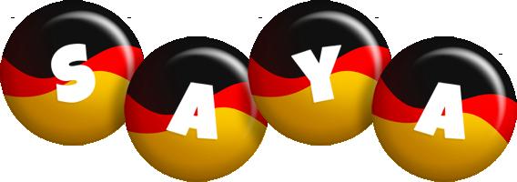 Saya german logo