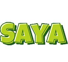 Saya summer logo