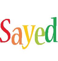 Sayed birthday logo