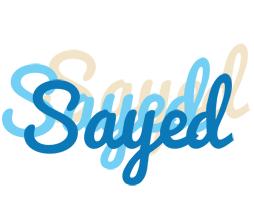 Sayed breeze logo