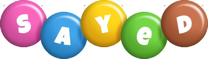 Sayed candy logo