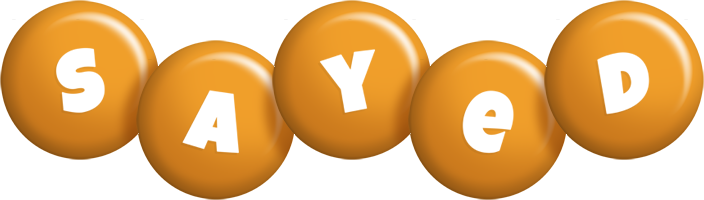 Sayed candy-orange logo