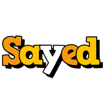 Sayed cartoon logo