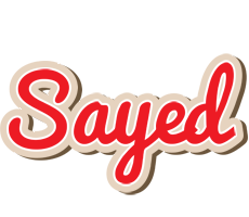 Sayed chocolate logo