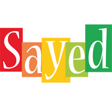 Sayed colors logo