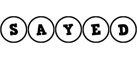 Sayed handy logo