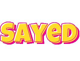 Sayed kaboom logo
