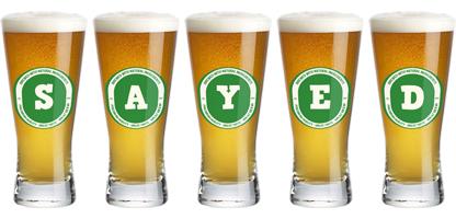 Sayed lager logo