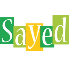 Sayed lemonade logo
