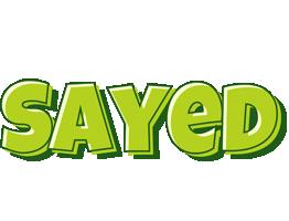 Sayed summer logo