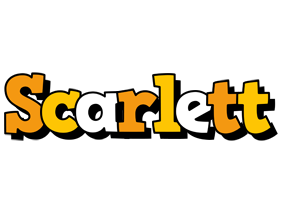 Scarlett cartoon logo