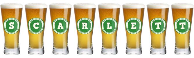 Scarlett lager logo