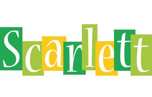 Scarlett lemonade logo