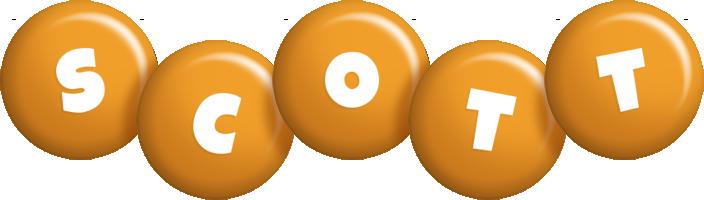 Scott candy-orange logo