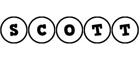 Scott handy logo