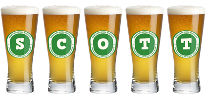 Scott lager logo