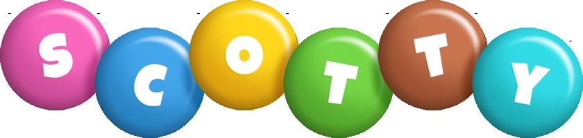 Scotty candy logo