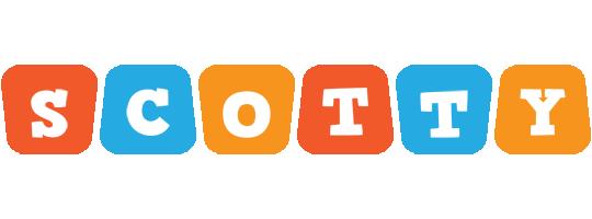 Scotty comics logo