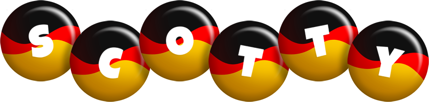 Scotty german logo