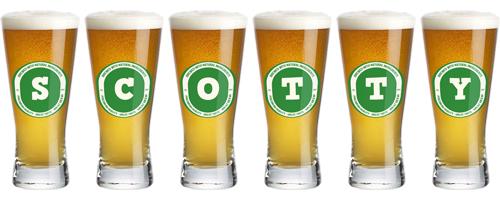 Scotty lager logo