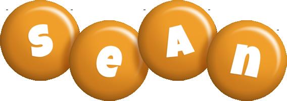 Sean candy-orange logo