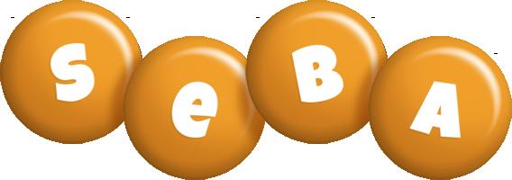 Seba candy-orange logo