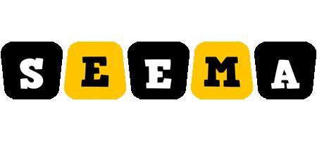 Seema boots logo