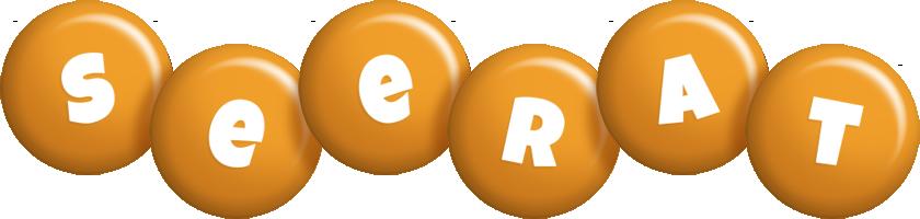 Seerat candy-orange logo