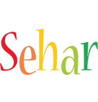 Sehar birthday logo
