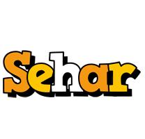 Sehar cartoon logo