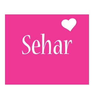 Sehar love-heart logo