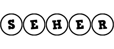 Seher handy logo