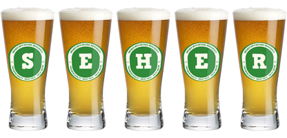 Seher lager logo