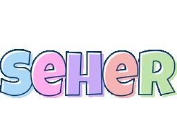 Seher pastel logo