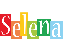 Selena colors logo
