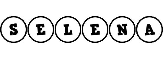 Selena handy logo