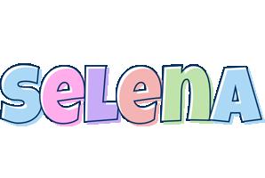 Selena pastel logo