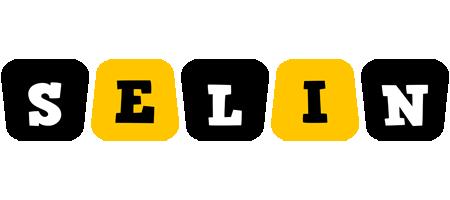 Selin boots logo