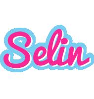 Selin popstar logo
